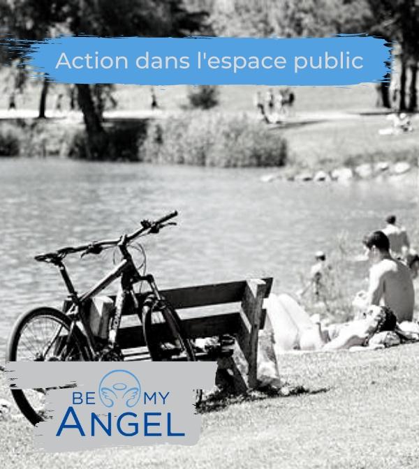Action dans l'espace public Cover